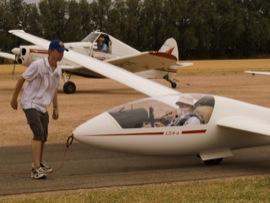 Preparing A Glider