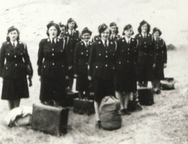 First female Trainee Officers