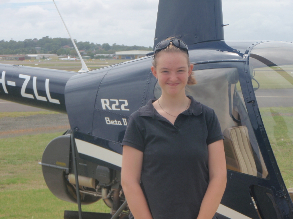 My helicopter joyflight
