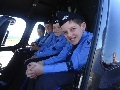 AAL Cadets check out a helicopter