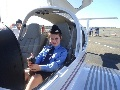 AAL Cadet takes the controls