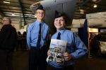 Australian Air League cadets at the Aviation Careers Expo