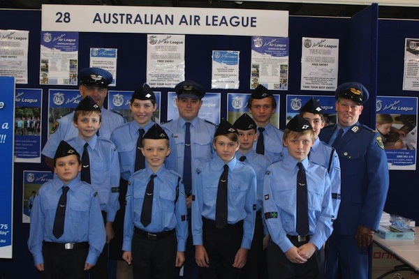 AAL members at the Aviation Careers Expo