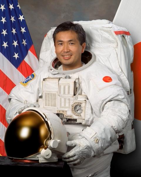 Japanese astronaut Koichi Wakata (NASA)