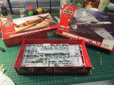 Group Model Build 1/72 Spitfire