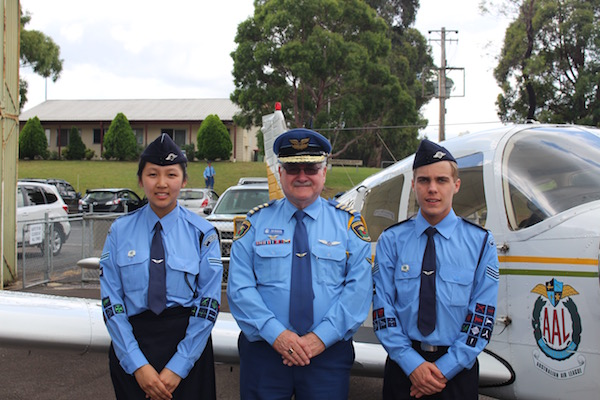 Cadet of the Year winners for 2016