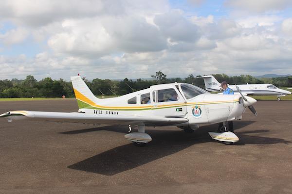 Piper Warrior VH-UNL