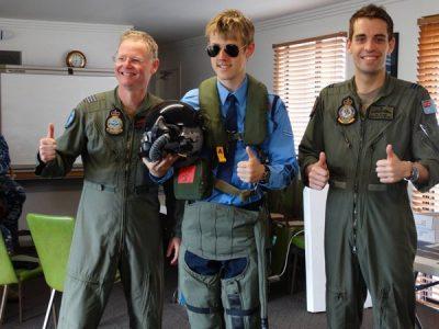RAAF Roulettes Visit Queensland