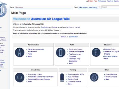 Air League manual and Wiki