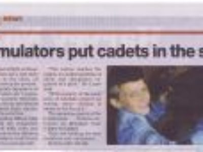 Simulator puts cadets in the sky