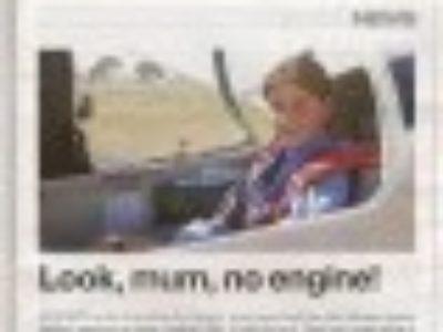 Look mum, no engine!