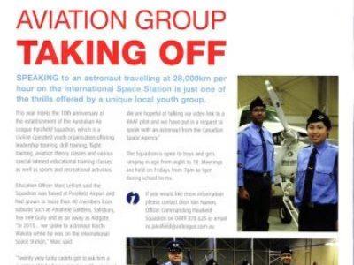 Parafield Squadron celebrates 10 years