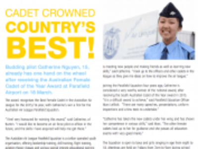 Cadet Crowned Country's Best