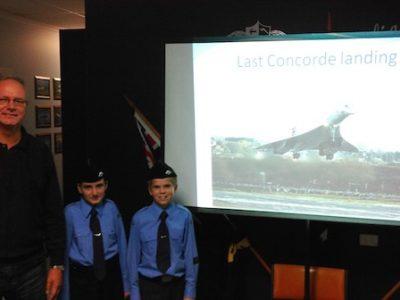 Concorde presentation at Parafield