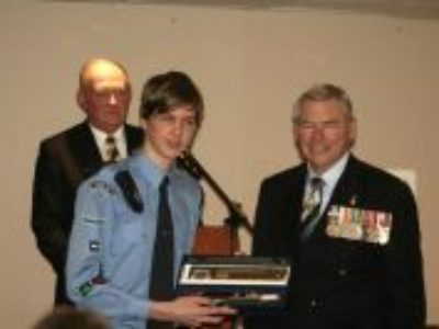 Leading Cadet Howes Honoured by Hornsby RSL