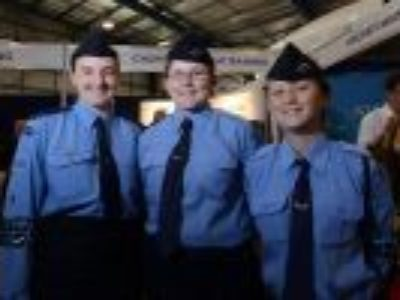 Queensland Cadets on Target for Aviation Careers Expo.