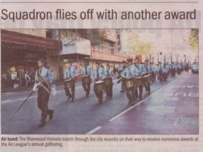 Squadron Flies Off With Another Award