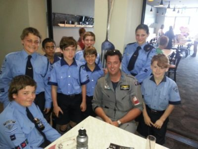 Ryan Campbell and RAAF Roulettes