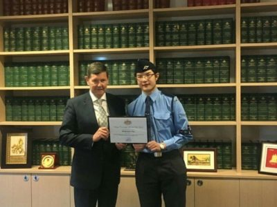 Doncaster Officers Recognised in 2017 Menzies Australia Day Awards