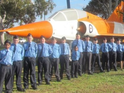 SA Wing visit the RAAF