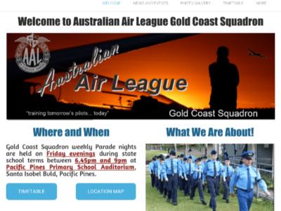 Squadron Websites