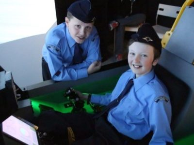 Tomorrow's Top Guns Try Out Their Flying Skills