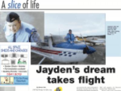 Jayden's Dream Takes Flight