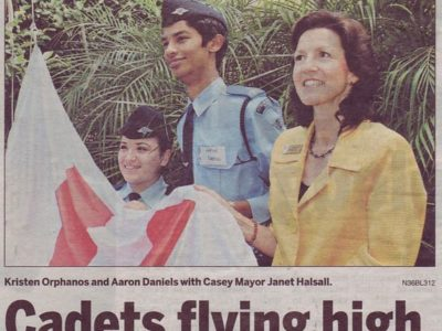 Cadets Flying High