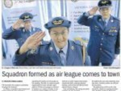 Squadron Formed as Air League comes to Sunbury