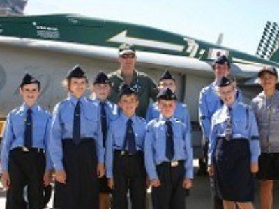 Pilots of Tomorrow meet Pilots of Today.