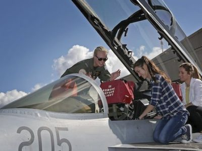 RAAF sponsors two female pilot scholarships