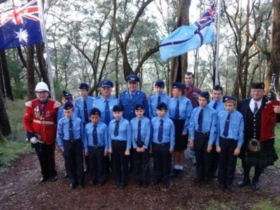 """Lilydale Sqn Remembers the """"Kyeema"""""""